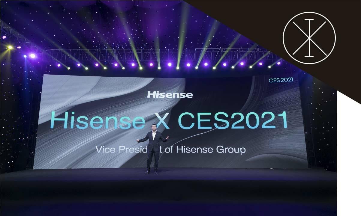 Hisense anuncia la nueva TriChroma Laser TV en CES 2021